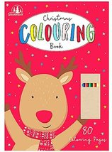 Christmas Colouring Book With Cryons - $7.90
