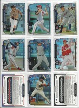 2015 BOWMAN CHROME BASE REFRACTORS - ALL SERIAL #ed/499 - WHO DO YOU NEE... - $1.05+