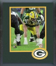 Dean Lowry 2019 Green Bay Packers -11x14 Team Logo Matted/Framed Photo - $42.95