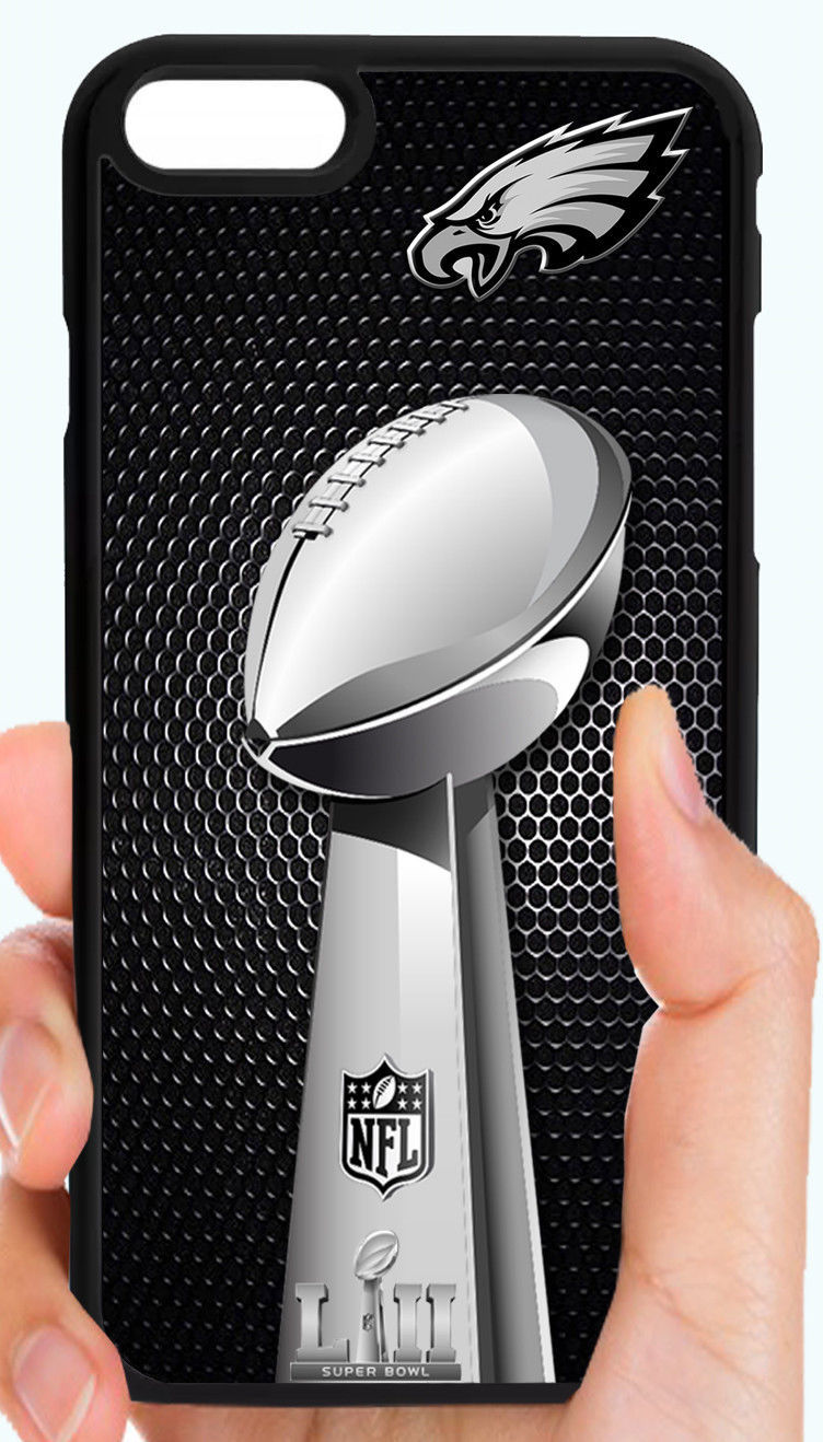 PHILADELPHIA EAGLES CHAMPS PHONE CASE FOR IPHONE X 8 7 PLUS 6S 6 PLUS 5C 5 5S 4S