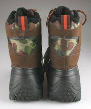 Goodfellow Co Case Mens Brown Camo Leather Textile Faux Fur Chucka Winter Boots image 3