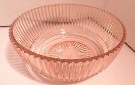 "Pink Queen Mary Depression Glass Lot 3 Bowls 2 berry 1 7"" DEEP - as is! - $39.95"