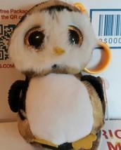 TY Beanie Boos OWLIVER Mini Owl Camouflage Camo Ornament Key Clip Keycha... - $12.75