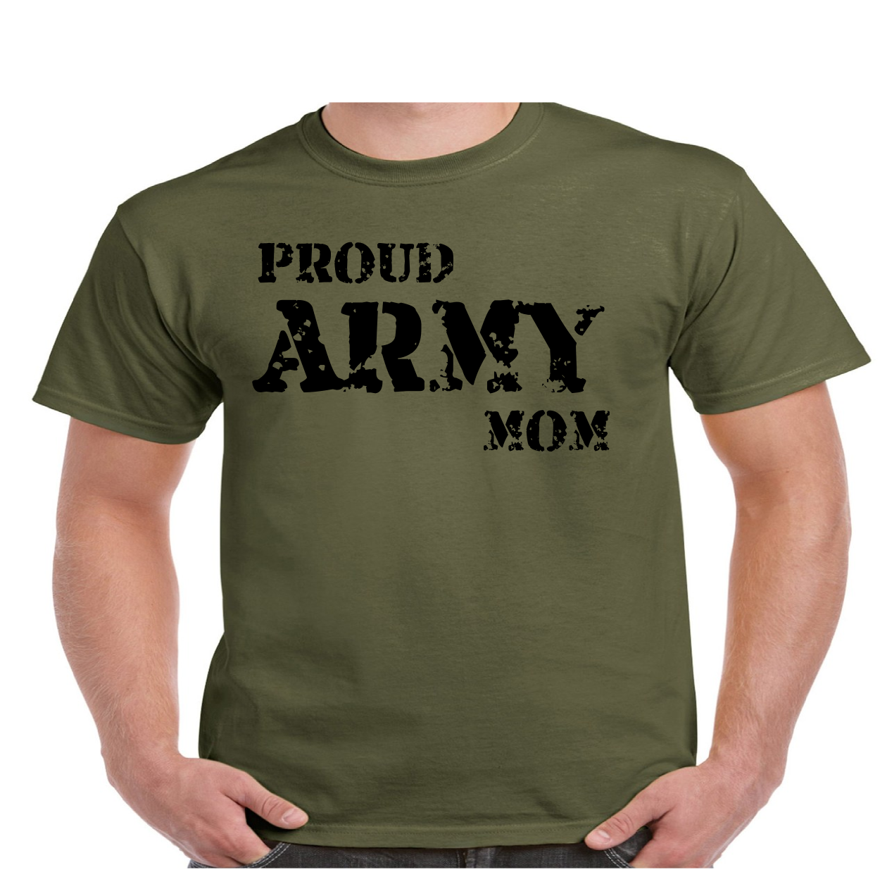 Proud Army Mom Military T Shirt