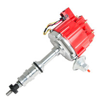 FORD 330 361 391 HEAVY DUTY TRUCK HEI DISTRIBUTOR RED 1 WIRE HOOKUP image 1
