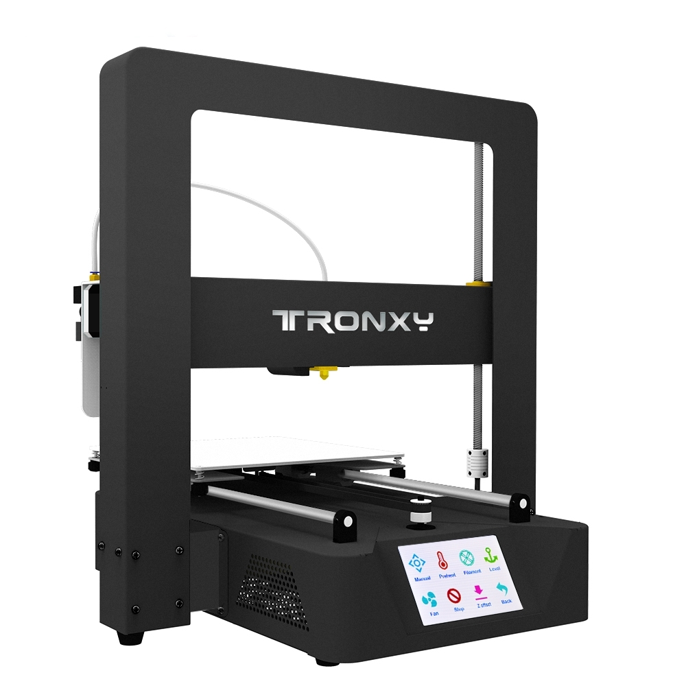 TRONXY X6A Metal 3D Printer 220x220x220mm Printing Size With 3.5inch Touch Scree