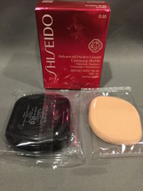 NIB Shiseido Advanced Hydro-Liquid Compact Refill D20 Rich Brown SPF 15 - $18.66