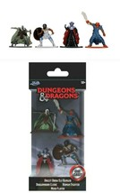 NEW SEALED 2020 Jada Dungeons and Dragons Diecast Figure Set of 4 - $14.84