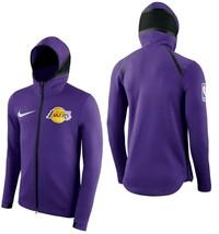 NIKE LA LAKERS NBA SHOWTIME BASKETBALL FULL-ZIP JACKET SIZE LARGE NEW W/... - $109.60