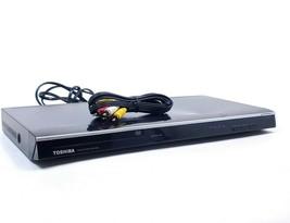 Toshiba DVD Player 1080p Upscaling SDK-1000 HDMI Low Profile Slim No Remote - $21.02