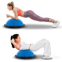 "21"" Balance Trainer Stability Half Ball Pilates Yoga Core Resistance Ban... - £45.91 GBP"