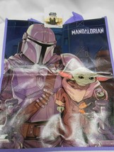 New lg Disney Star Wars reusable shopping Tote bag for all kids Mandalor... - $6.68