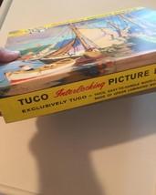"Vintage 50s Tuco Interlocking Picture Puzzle- #5982 ""Along Cape Cod""  image 5"