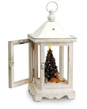 Mr. Christmas Rustic Lighted Fiber Optic Musical Table Top Lantern #78751 - $77.95