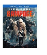 Rampage [Blu-ray+DVD+Digital, 2018]