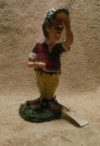 Russ Berrie Doug Harris Golf 'eye On The Ball' Figurine Mint With Tag - $18.99