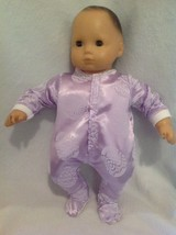 "15"" Bitty Baby purple Easter egg spring sleeper pajamas pjs girl Doll Cl... - $12.99"