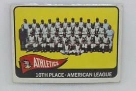 1964 Topps #151 Kansas City Athletics 10th Place Team - $4.95