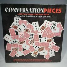 Ceaco Conversation Pieces Deck of Cards Jigsaw Puzzle 500 Pieces VTG Sealed - $22.95