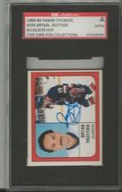 Bryan Trottier 1988 Panini Stickers Autograph #293 SGC Islanders - $39.15