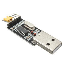 5pcs 3.3V 5V USB to TTL Convertor CH340G UART Serial Adapter Module STC - $9.90