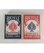 Bicycle Rider Back Playing Cards 808 Rider Back Poker Red & Blue - $8.14