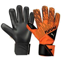 Puma Future Grip 5.4 RC Goalkeeper Gloves GK Soccer Football Orange 04166504 - $31.99