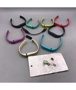 Fitbit Elastico Attività Fitness Braccialetto FB401 NERO L/G Pacco W/Car... - $39.60