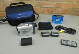 Sony Handycam Digital Disc Camcorder Video Camera DCR-DVD201 - $80.37