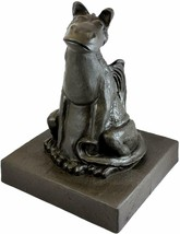 "Emsco Group 92530 Lightweight Smiling Dragon Garden Statue, 21"", Bronze - $99.99"