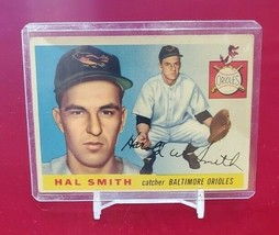 1955 Topps Set Break # 8 Hal Smith  - $1.00