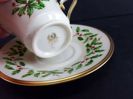 LENOX China Holiday Dimension 5 Piece Place Setting Dinnerware USA image 10