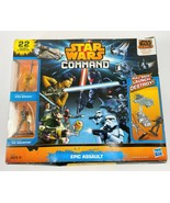 Star Wars Command Epic Assault Set - 22 Figures and Vehicles - Create ba... - $14.01
