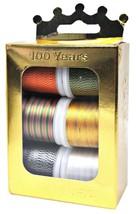 Madeira Jubiläum Krone Box Viskose 40 Multicolor Stickgarn - $31.14