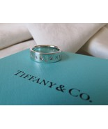 Tiffany & Co. Locks Sterling Silver & Diamonds Band Ring~Size 6.5~B & P~... - $270.00