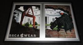 2001 Rocawear Framed ORIGINAL 12x18 Advertising Display - $65.09