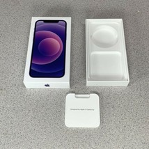 Apple iPhone 12 Purple 128GB Box and Inserts ONLY - Phone NOT Included - $14.84