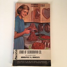 1964 Maid of Scandinavia Co General Catalog Cake Decorating Vintage - $9.45