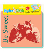 New Paper Towel Alternative Strawberry Theme Reusable Washable Hydroclot... - $15.00
