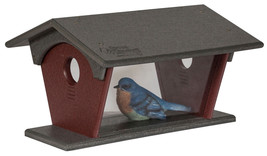 BLUE BIRD FEEDER Large HANGING Deluxe Covered 1... - $65.42 - $70.09