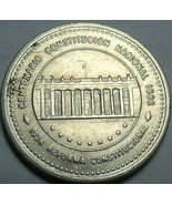 Colombia 1987 50 Pesos Large Date Variety~National Constitution - $6.21