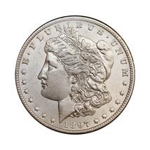 1897 O Morgan Silver Dollar - Choice BU / MS / UNC - $357.00