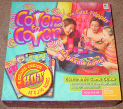 Cover To Cover Magazine Electronic Game 2004 Milton Bradley Sealed Cards - $15.00