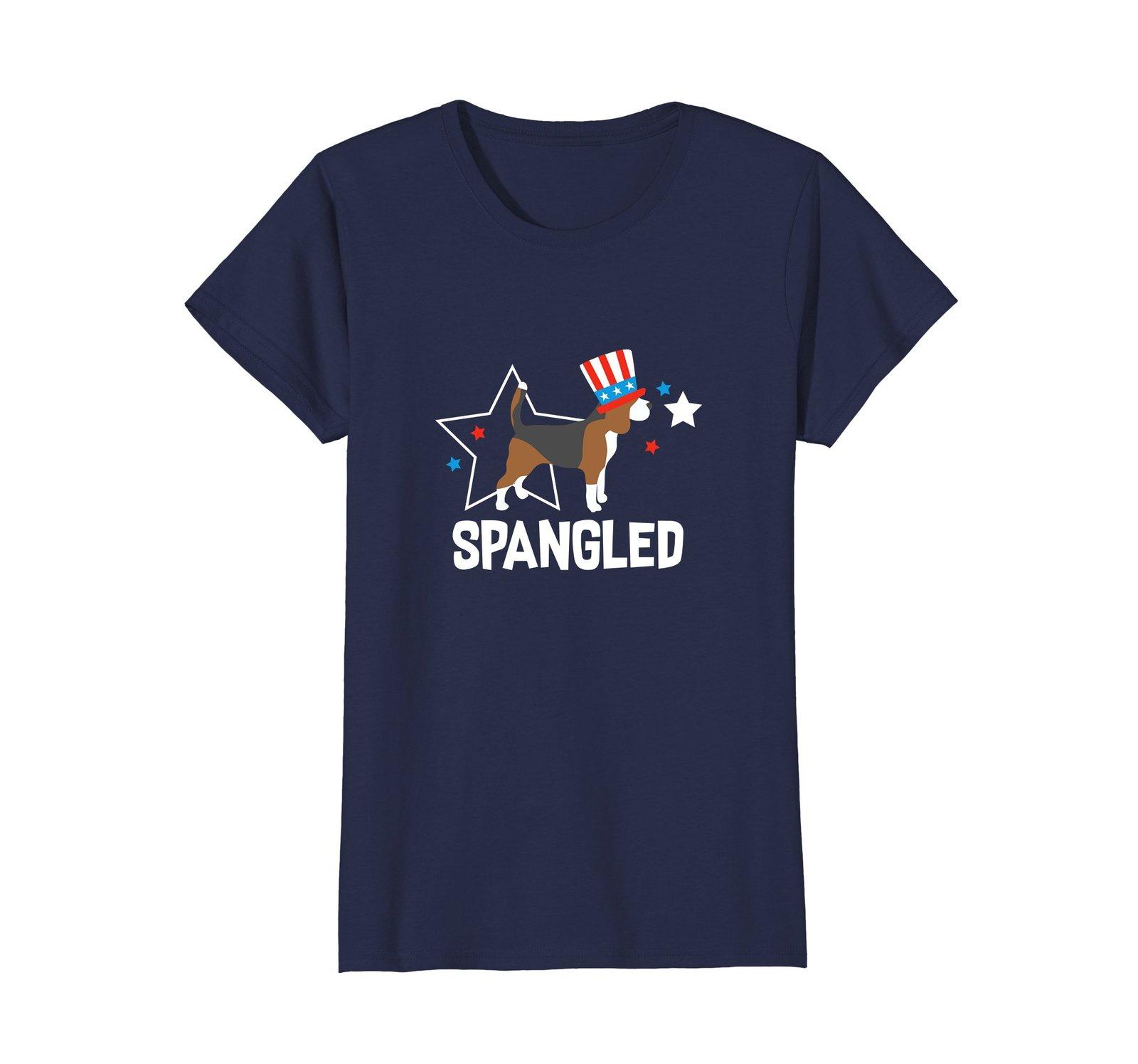 4th of July Shirt Beagle Stars  Bars Gift