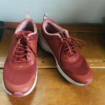 Gently Used Women's Nike Air Max Thea Rust w Orange Velvet Lining Tennis... - $39.88