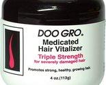 DOO GRO Hair Vitalizer Triple Strength for Severely Damaged Hair, 4 oz