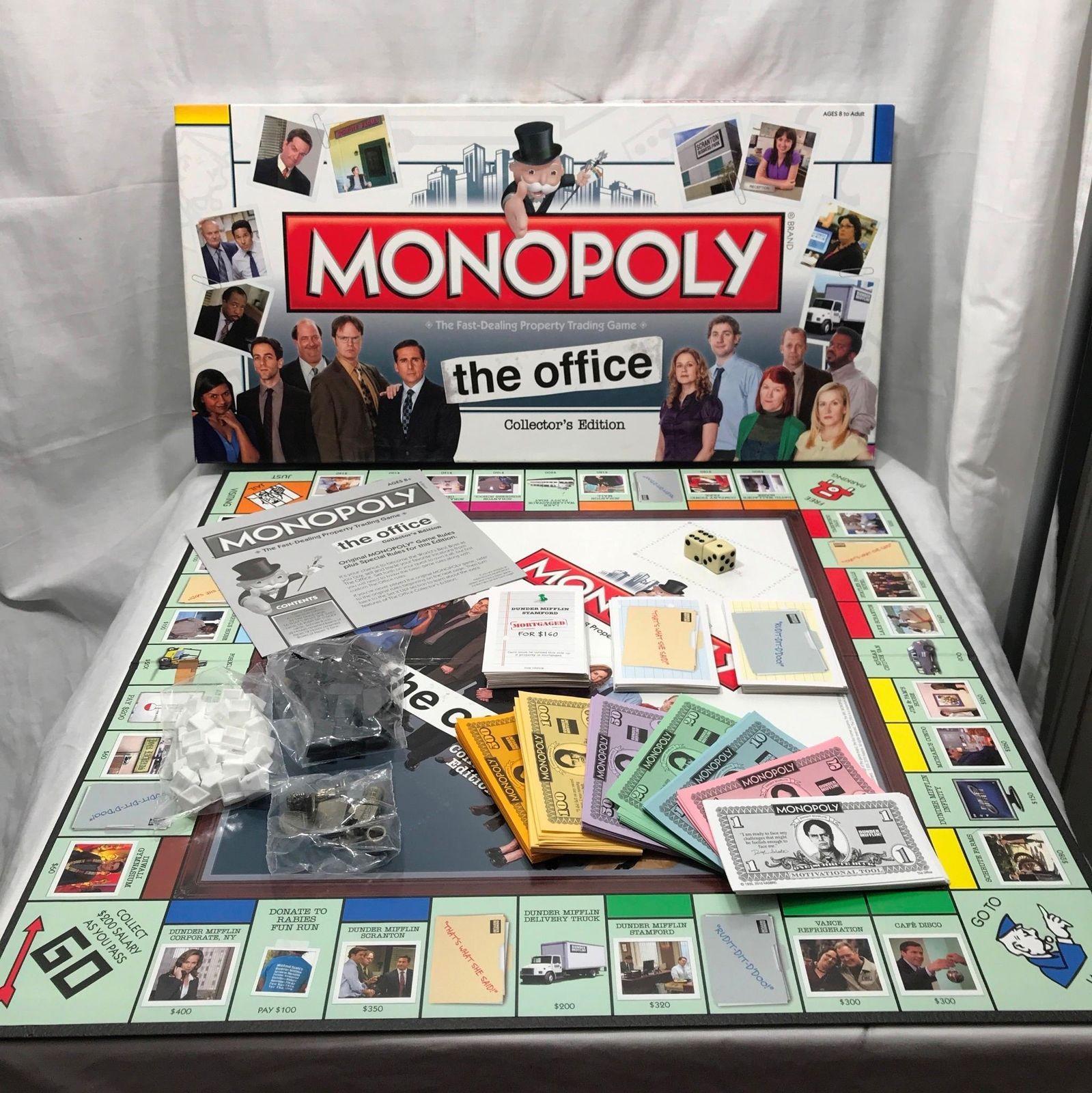 Hasbro The Office Monopoly Collectors Edition 2010 Board