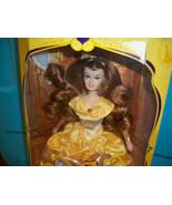 Disneyland Resort Paris France Belle Doll nrfb HTF Yellow Golden Gown Eu... - $139.99