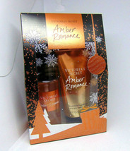 VICTORIA'S SECRET AMBER ROMANCE Fragrance Mist & Body Lotion 2.5oz NIB - $15.74