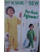 Sewing Pattern 3922 Toddler Pajamas size 1T-4T - $5.99